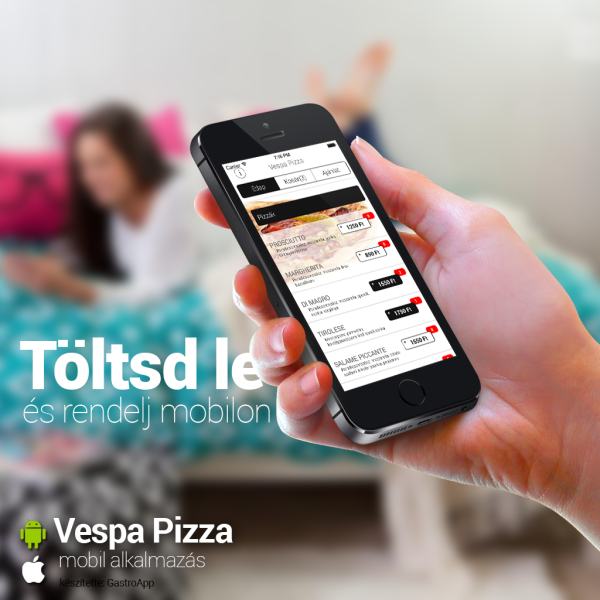 Vespa Pizza Facebook post kép
